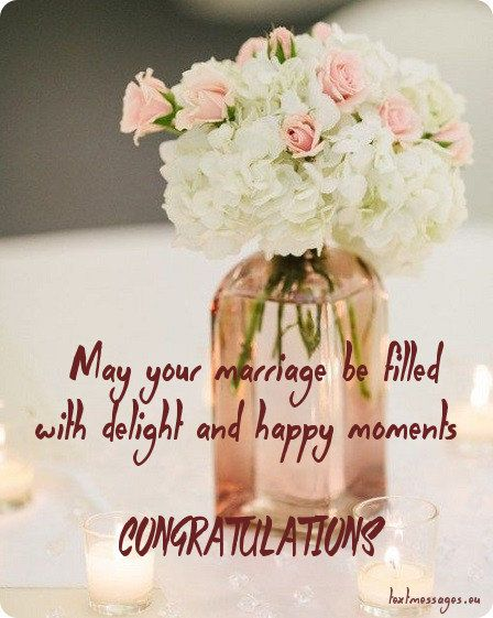 Short Wedding Wishes, Quotes & Messages (With Images ...