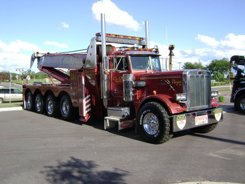 Cl Chase 24 Hour Repair Towing Tomah Wi Peterbilt 359 W 100