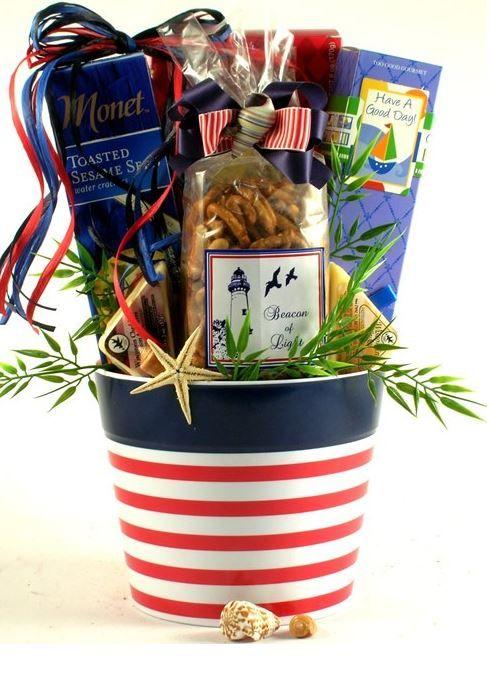 Nautical Gift Basket Gourmet Gift Baskets Nautical Gifts