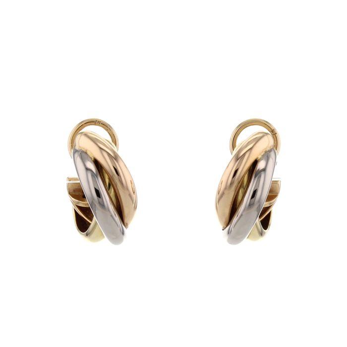 boucle d'oreille 3 anneaux