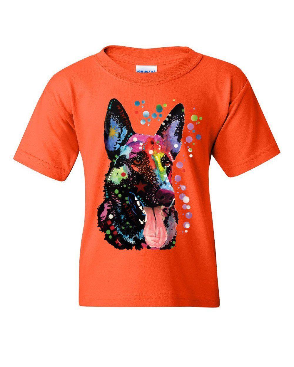 German Shepherd Sweatshirt Dean Russo Multicolor Art Dog Pet Lovers Sweater