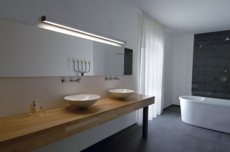 Mooie verlichting.... Badkamerverlichting & geschiktheid wandspots ...