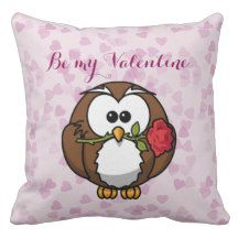 A customized pillow for your Valentine.