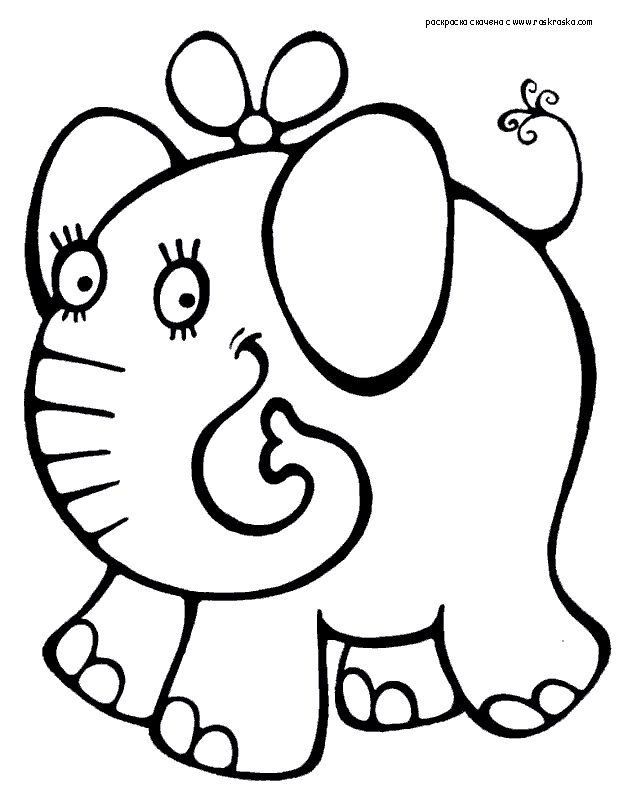 Раскраски для детей 2-4 года » Страница 9 » Раскраски для ...