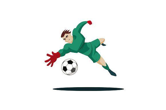 Goalkeeper Catches The Ball Football Artwork Goalkeeper Female Art Painting