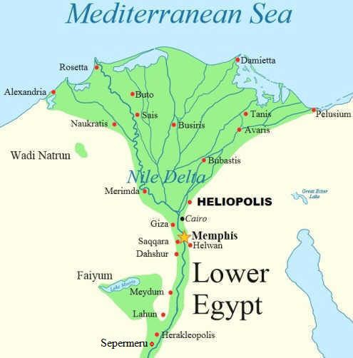 Fourteenth Dynasty Of Egypt Ca BCE During This Period - Map of egypt location