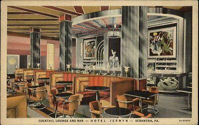 Hotel jermyn deco cocktail lounge and bar scranton pa