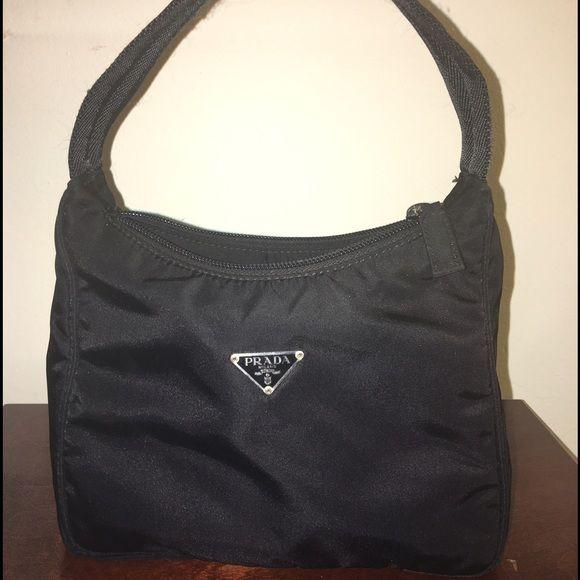 61d8414368 PRADA BLACK SMALL TESSUTO SHOULDER BAG PRADA BLACK SMALL TESSUTO SHOULDER  BAG. No Trades Price is firm❗ Prada Bags Shoulder Bags