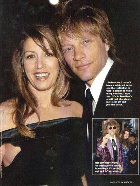 Jon Bon Jovi And Dorothea Jon Bon Jovi Amp Dorothea Bon