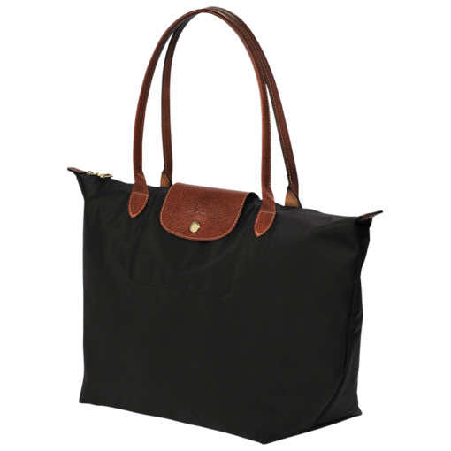 Tote bag - LE PLIAGE - Handbags - Longchamp - Black - Large ...