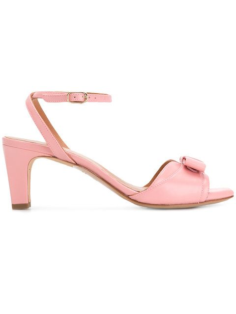 bow front ankle strap sandals - Red Chie Mihara PCjFhp