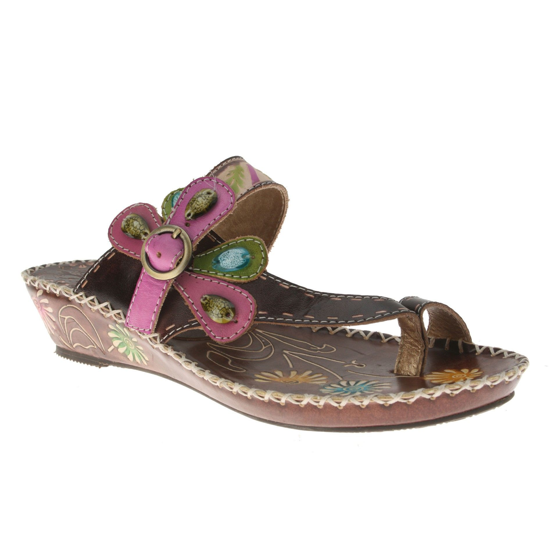l'artiste shoes | Spring Step L'Artiste Santorini Toe-Loop Sandals
