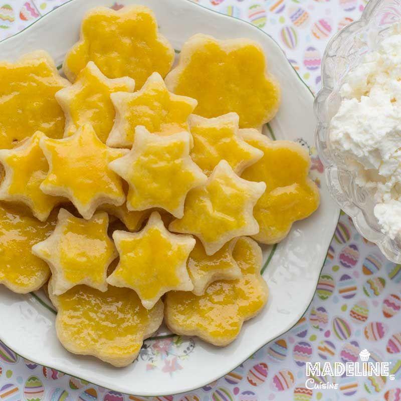 Biscuiti fragezi cu branza de vaci / Cottage cheese crackers