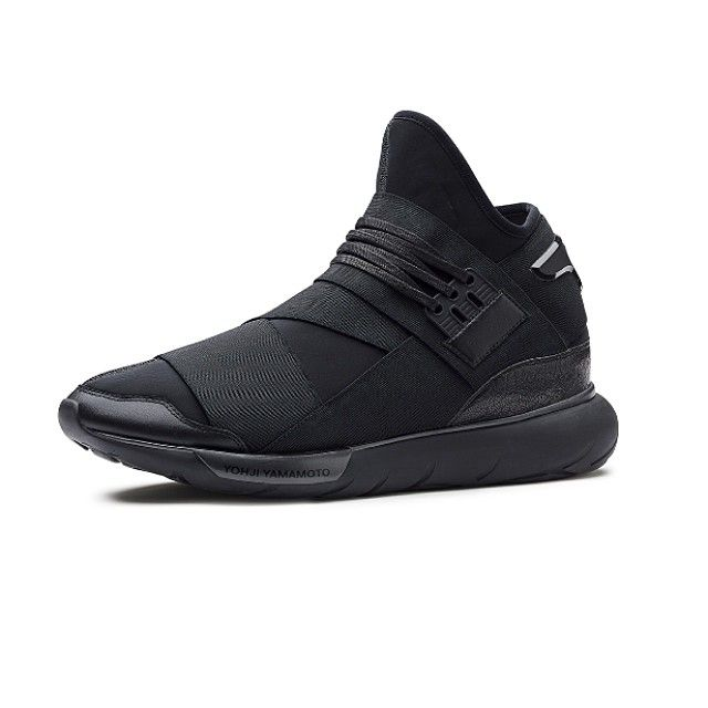 808d512ac0643 The Y-3 Qasa High Black (M21248) is coming