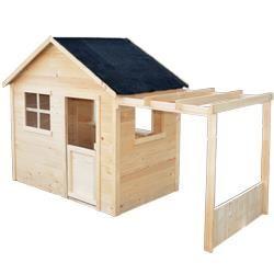 kinderspielhaus aus holz emma lets go outside pinterest kinderspielhaus holz und g rten. Black Bedroom Furniture Sets. Home Design Ideas