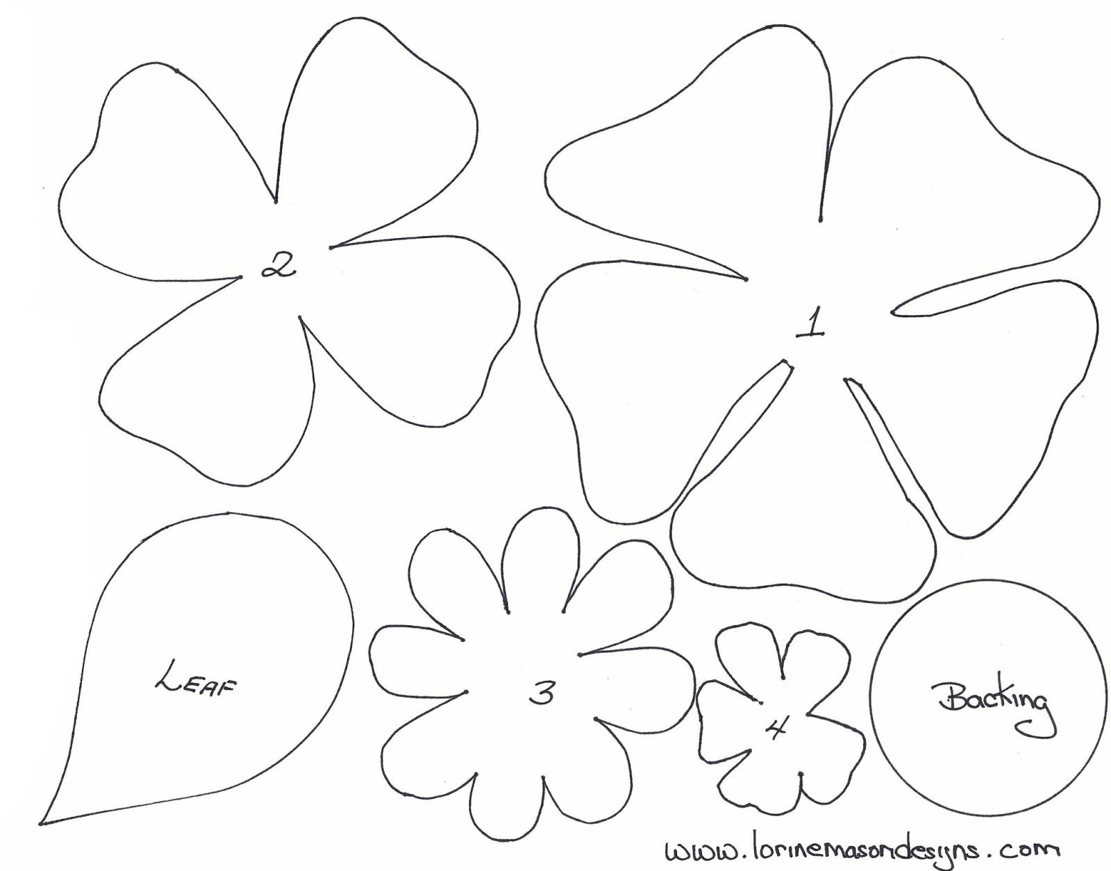Free felt ornament patterns felt flower patterns http 424 x 425 19 kb jpeg print this felt flower brooch pattern http sewing jeuxipadfo Choice Image
