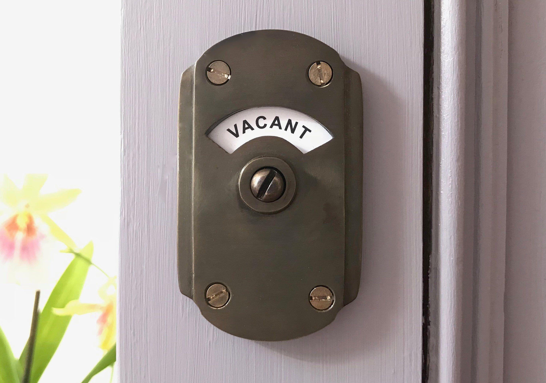 Pin By Mark Zilner On Basement Art Deco Bathroom Bathroom Door Locks
