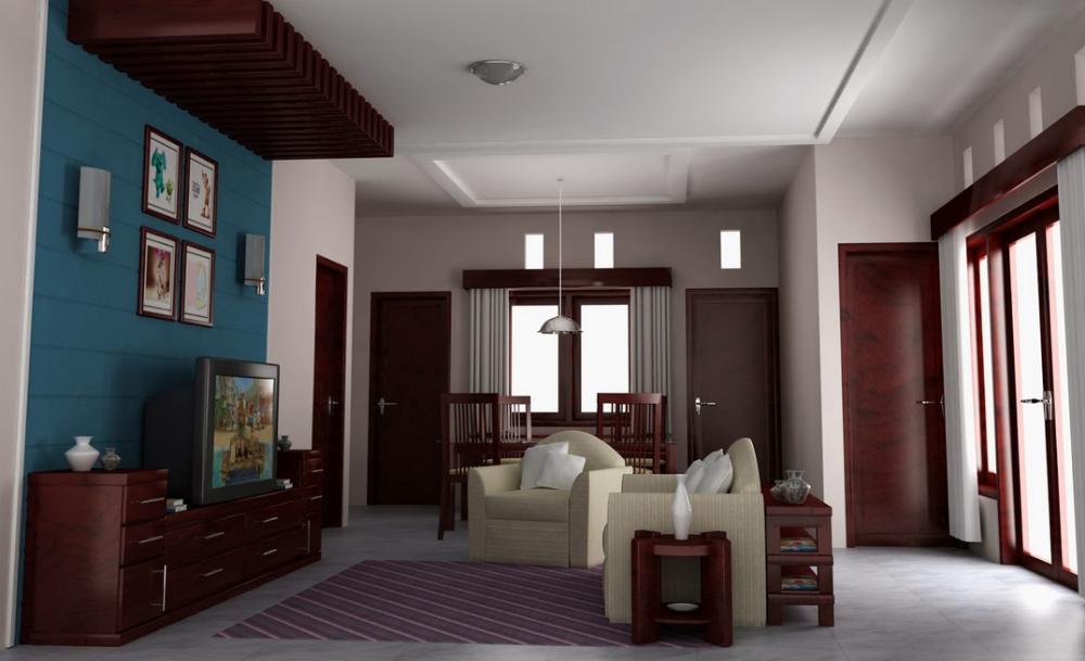 Aplikasi Desain Rumah Minimalis Gratis  contoh gambar desain interior rumah minimalis sederhana