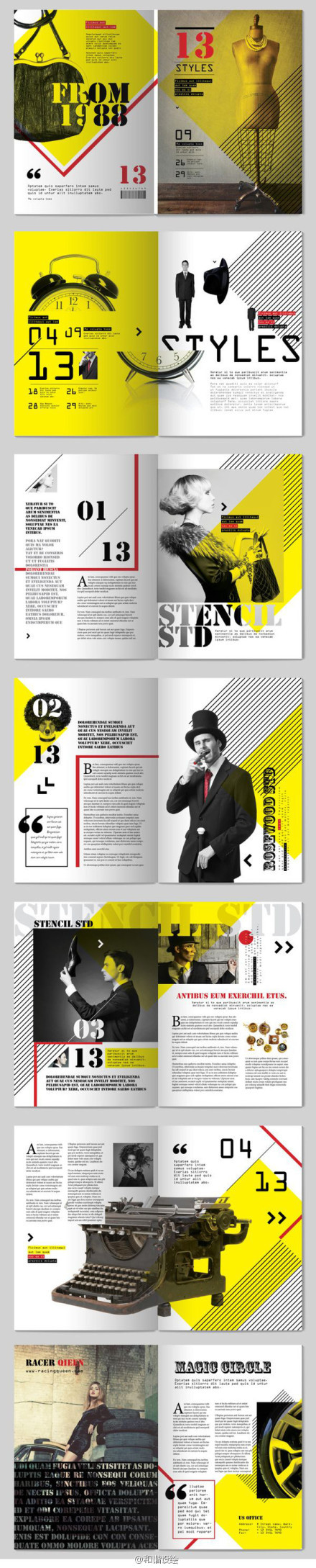 By tony huynh great editorial design and layout also best zine images on pinterest graph rh
