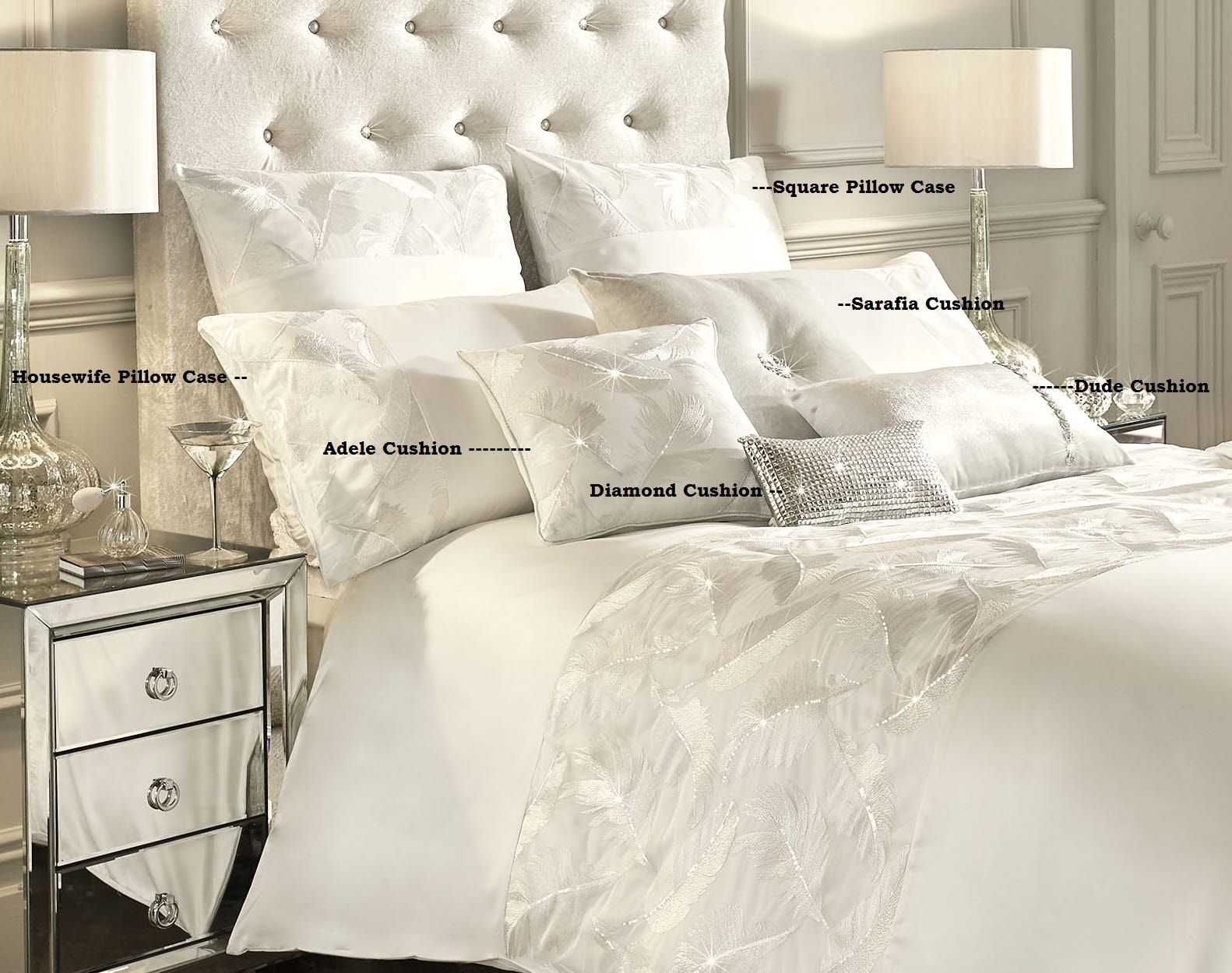 New Kylie Minogue Adele Bed Linen Design In This Beautiful Feather