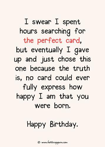 The Perfect Birthday Card Birthday Greetings Funny Boyfriend Birthday Quotes Happy Birthday Boyfriend
