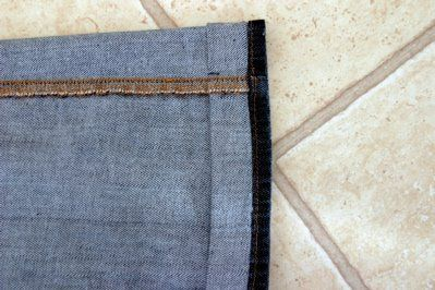 How To Hem Pants With A Cuff Barefoot In The Kitchen How To Hem Jeans In 3 Easy Steps How To Hem Pants Hem Jeans Sewing For Beginners