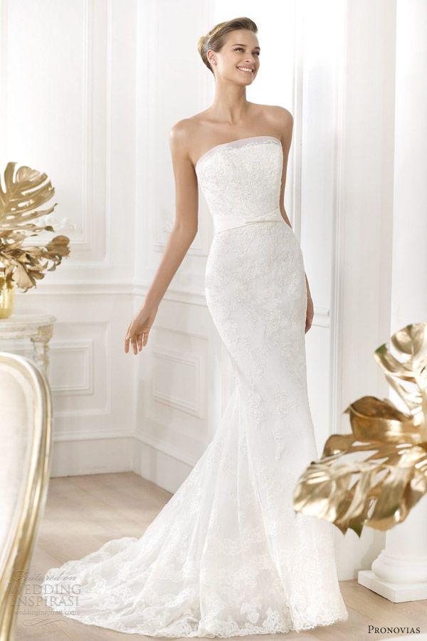 Pronovias Wedding Dresses — Costura 2014 Pre-Collection | Pronovias ...