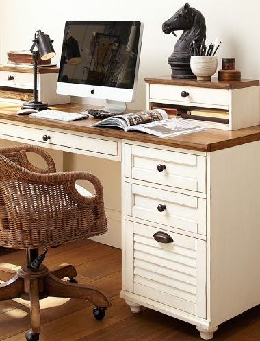 Love This Desk But In The Dark Brown Wood From Pottery Barn