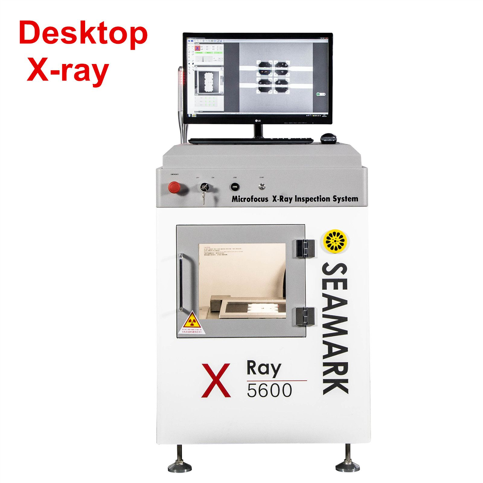 Smart Xray Inspection System Bgaxrayinspection Machine X 5600