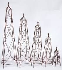 Image Result For Wrought Iron Obelisk Trellis Wrought Iron