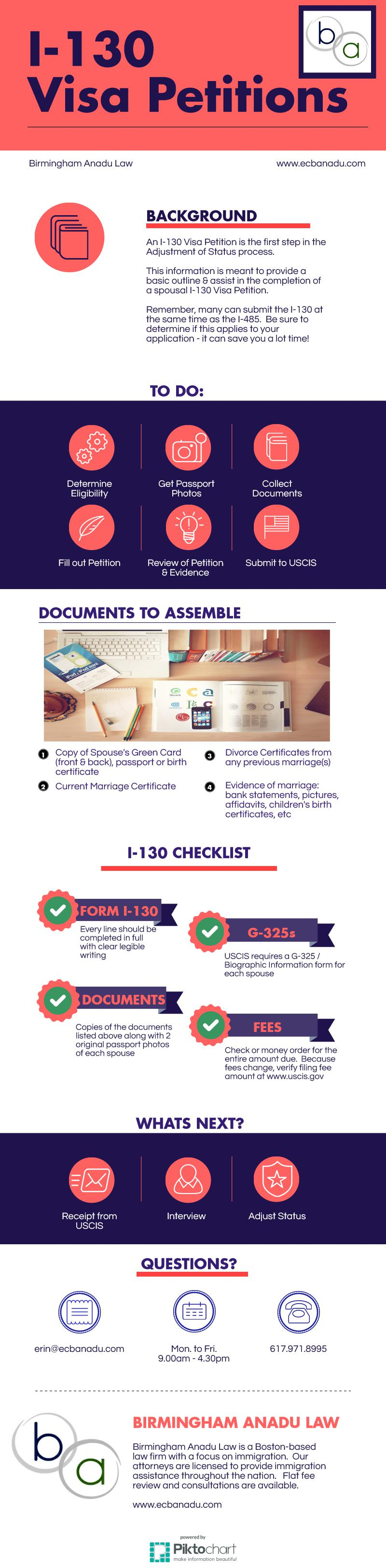 Free download i130 visa petition infograph petition