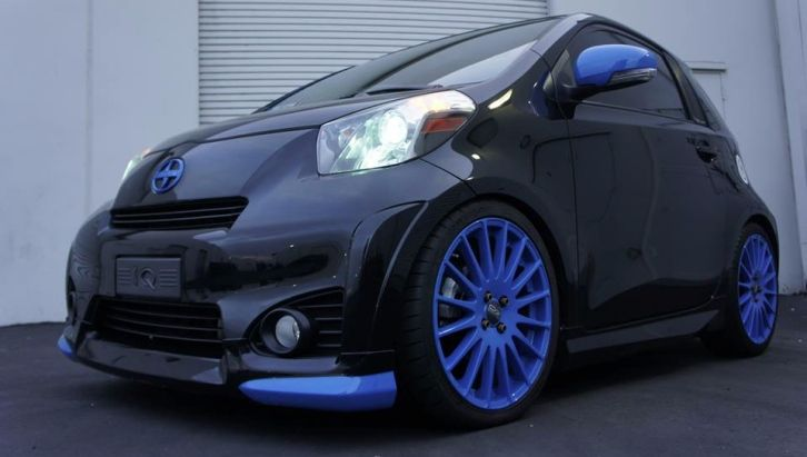 How To Make Your Scion Iq Look Like A Hot Wheels Collectible City Car Scion Hot Wheels