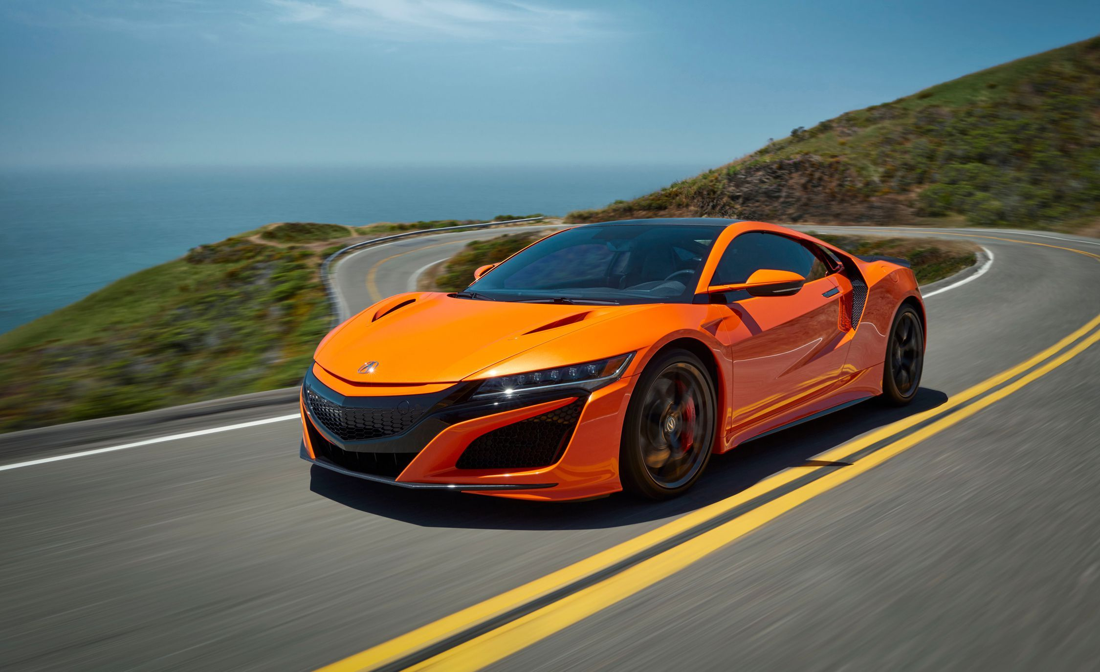 2019 Acura Nsx Gets A Nose Job A Better Chassis And More Orange Photos Acura Nsx Nsx Japanese Sports Cars