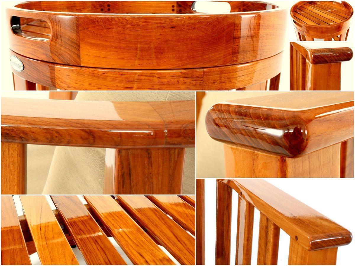 Yacht Marine Finish Gloss Teak Furniture Westminster Teak Teak