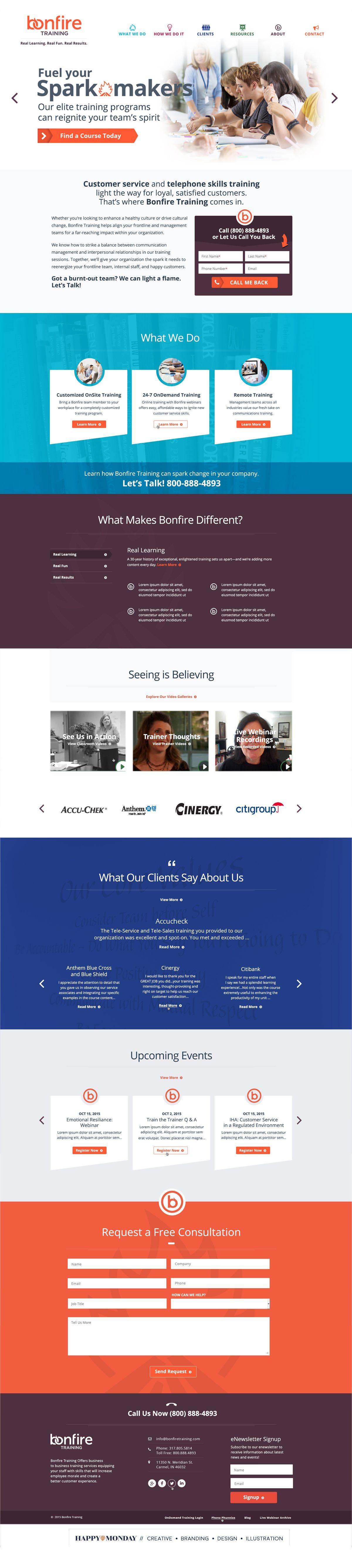 Website Design For B2b Corporate Call Center Trainers Skills In 2020 Web Design Customer Service Training Wordpress Theme Responsive