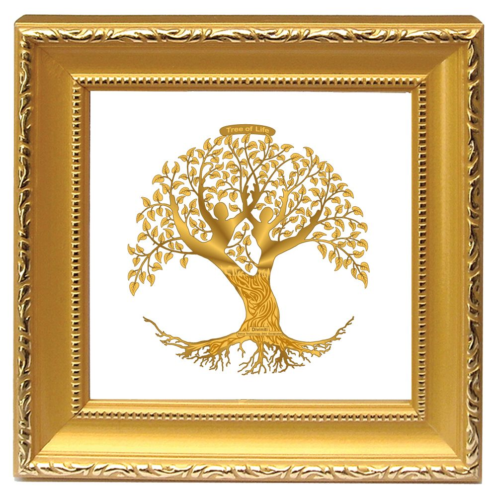 Diviniti Presents 24 Ct Gold Encased Photo Frames Available As Tree