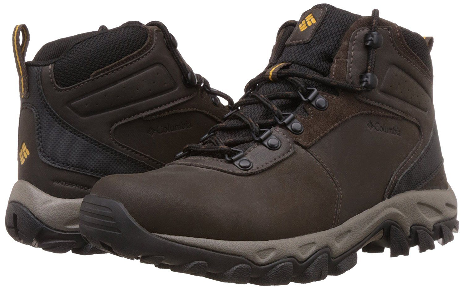 5th Best Hiking Boots for Men is Columbia Men s Newton Ridge Plus Ii  Waterproof Hiking Shoe  Columbia Newton Ridge Plus Ii is a best waterproof  hiking boot ... b49cc09e7c5