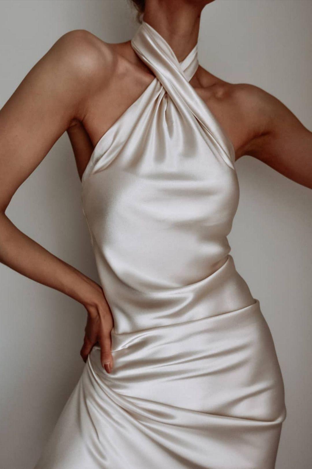 slip dress outfit #dresses you finally found an ideal silk