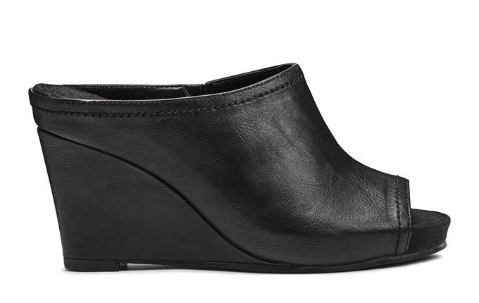 ab605e7fd59d0 Women's Plushed Metal Wedge Mule | shoes | Wedge mules, Wedges, Shoes