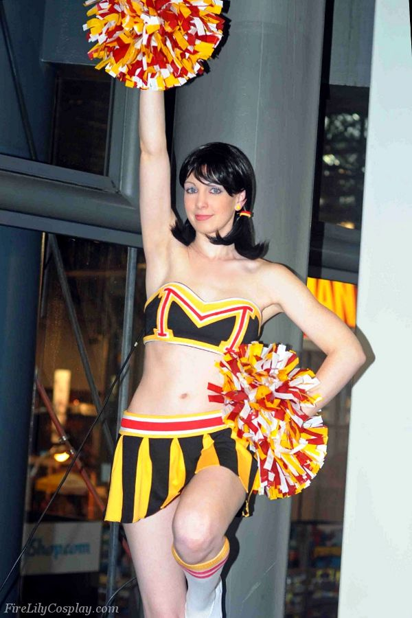 4e3549c7fd5e Character  Dr. Mrs. The Monarch (Cheerleader Outfit)   From  Adult Swim s   The Venture Bros.  Cartoon   Cosplayer  Tarisa Walker (aka Fire Lily  Cosplay) ...