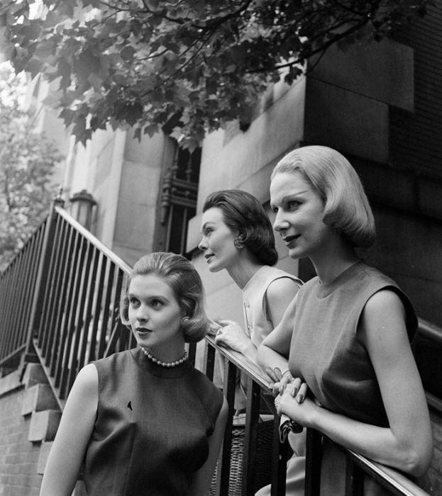 Женщины 40-х и 50-х годов на фото Нины Лин (37 фото) в ...