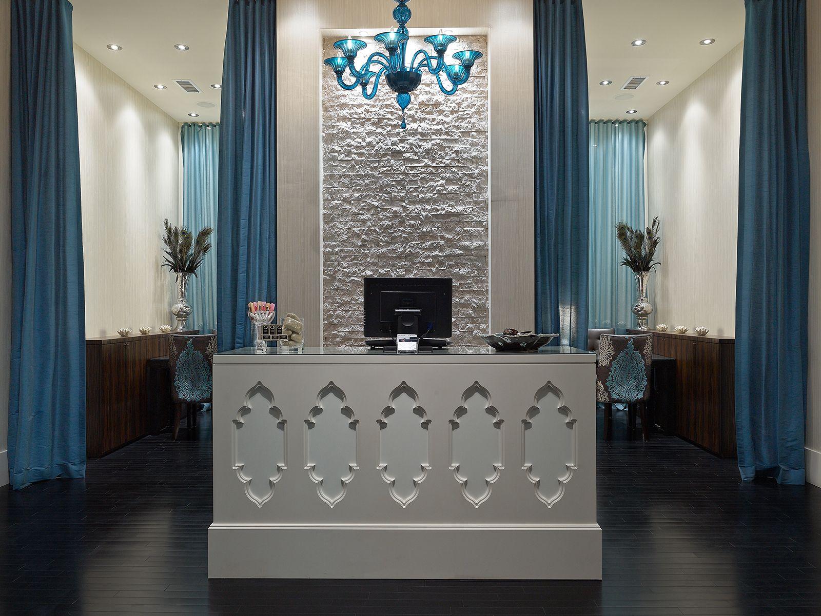 Habachy Designs | Commercial Portfolio | Nail salon interior
