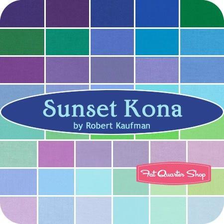Sunset Kona Cotton Solids Roll Up SKU #RU-263-43