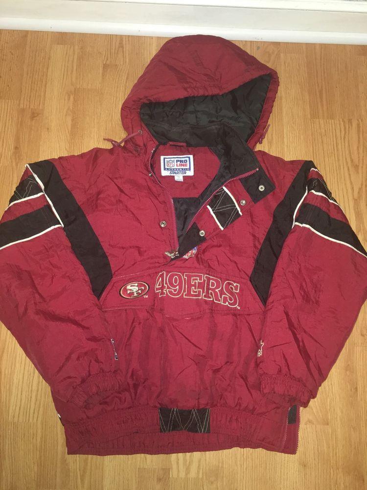new product d2629 e966f NFL Starter San Francisco 49ers Jacket | eBay | 80s 90s ...