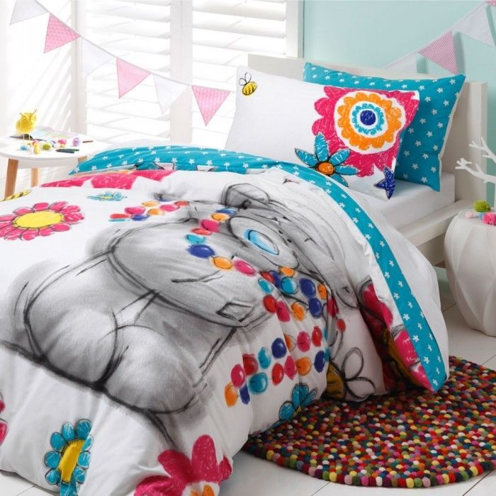 Double Bed Size Doona Duvet Quilt Cover Set Tatty Teddy Kids Girls Me To You New Teddy Bear Bedroom Tatty Teddy Quilt Cover Sets