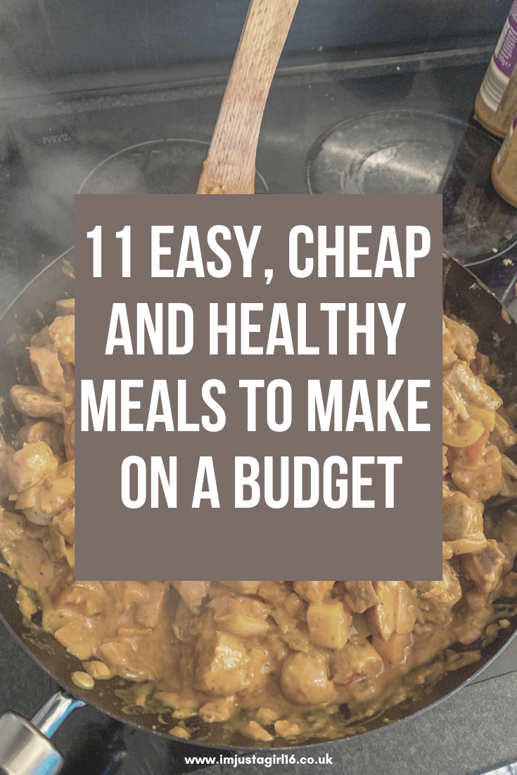11 Easy, Cheap and Healthy Meals To Make On A Budget images