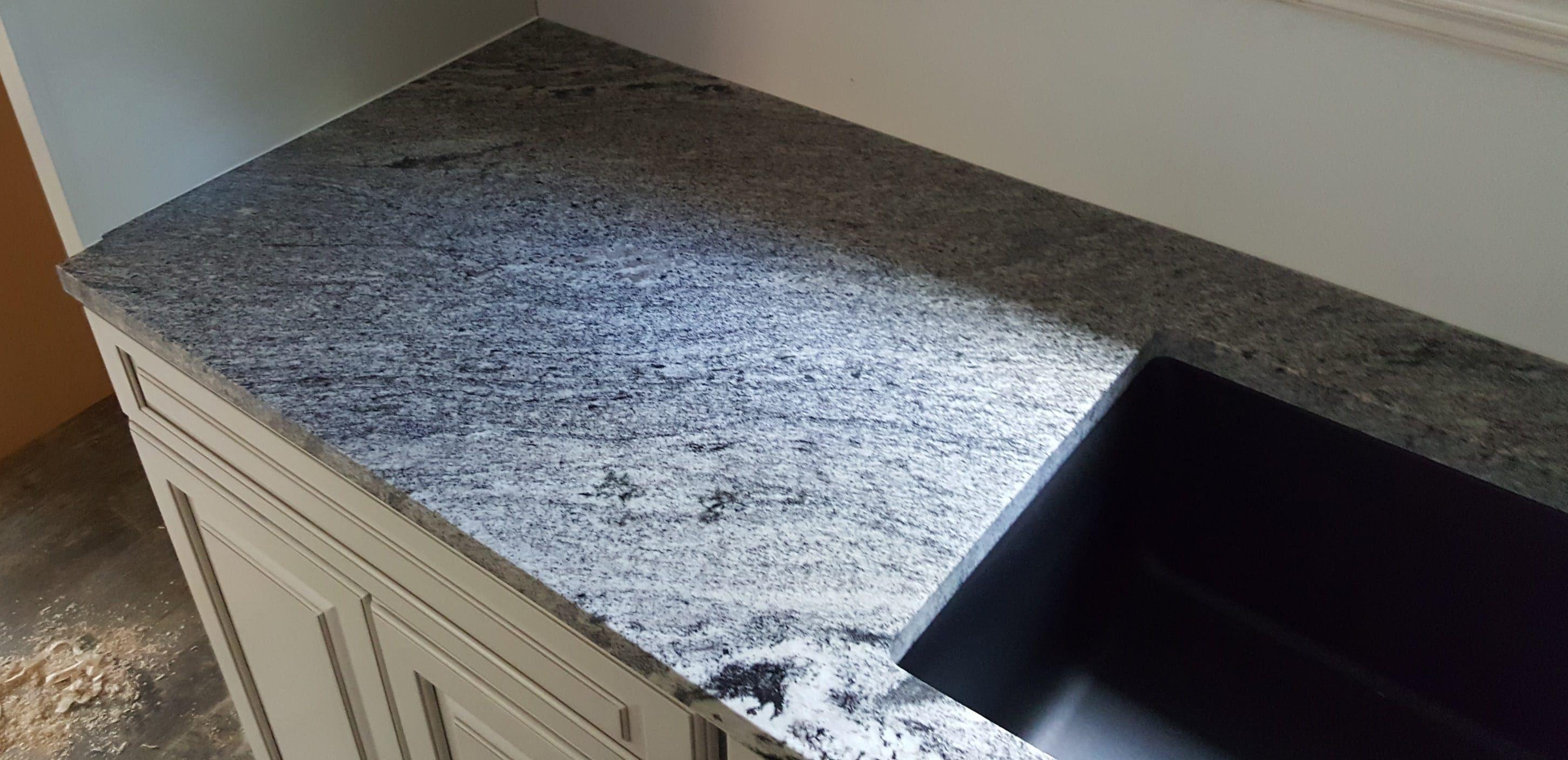 Type Of Job Kitchen Countertops Material Granite Color Waterfall