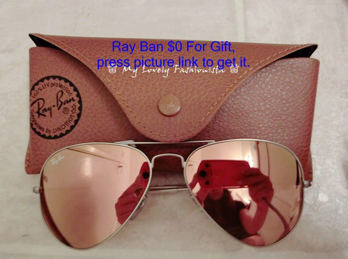29d02c0fa4 My Lovely Fashionista ♕  Ray-Ban Original Aviator 58mm Sunglasses