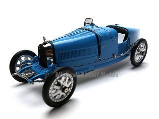 Bugatti Type 35 T35 Grand Prix 1924 Diecast Car 1/18 Blue