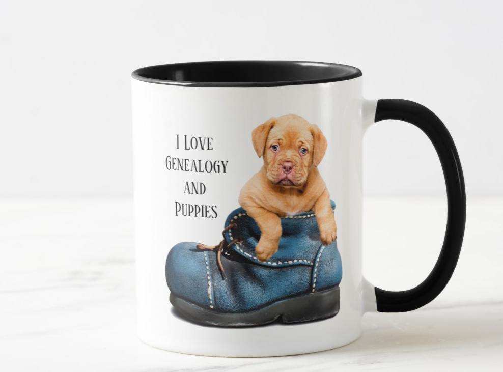 I Love Genealogy And Puppies Coffee Mug Zazzle Com Pet Insurance Reviews Puppies Cutest Puppy Ever